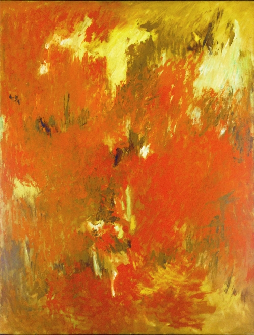 Albert Kotin, October, 1957-58 Oil on canvas 50 x 38 inches #0080