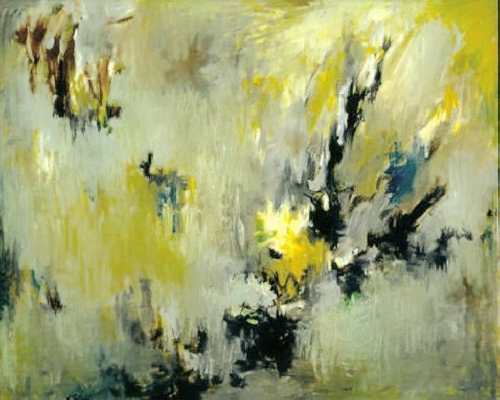 Albert Kotin- Whispering Rain, 1957 Oil on canvas, 40 x 50 inches #0069.